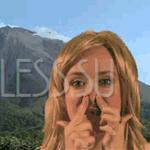 Упражнение для разглаживания щек и носогубок (от Ema Narcisse)