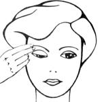Комплекс упражнений для глаз и бровей в течение дня