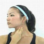 Щипковый массаж нижней части лица и подбородка