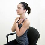 2 простых упражнения для красивой шеи и подбородка