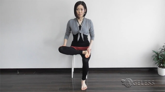Улучшаем состояние спины и убираем отечность ног
