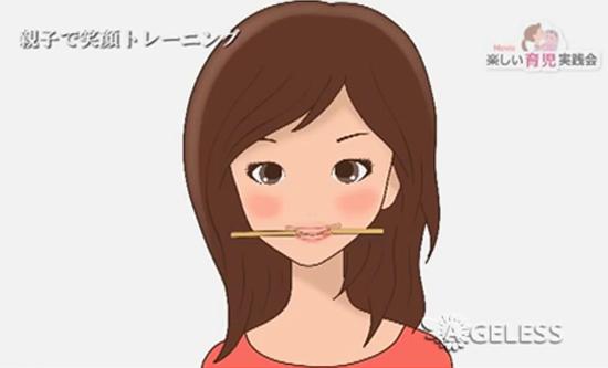 Тренировка улыбки по-японски
