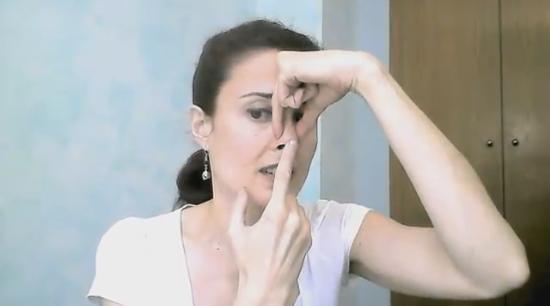 Упражнения для тонкого, подтянутого носа