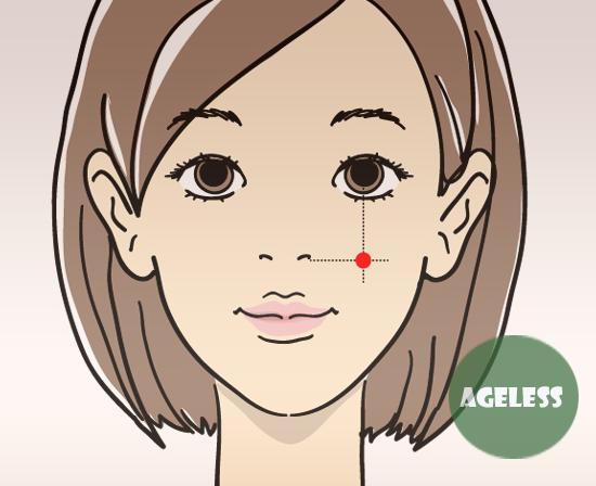 4 ключевые точки красоты отодвинут старение лица