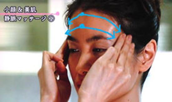 Лимфодренажный лицевой массаж вен