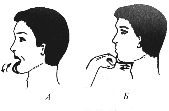 Тренировка мышц языка и нижней челюсти