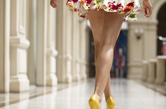 Как научиться красиво ходить?